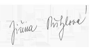 Jiřina Přibylová podpis