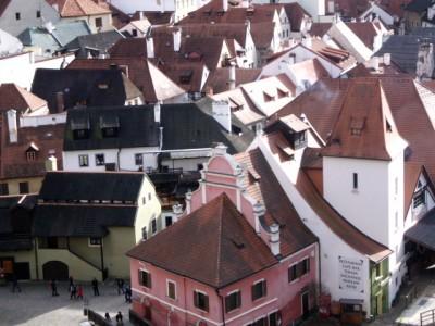 Český Krumlov - kde se středověk potkává se současností